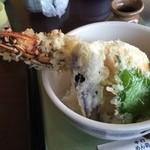 盛喜 - 料理写真: 天丼980円