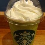 スターバックスコーヒー -  抹茶クリームフラペチーノ:442円 (2014/5)