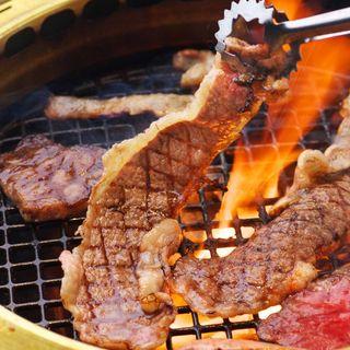 【人気】近江牛大判カルビを豪快に焼いて堪能ください!