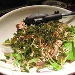 27775056 - じゃこと香味野菜のサラダ
