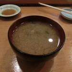 小判寿司 -  シジミ汁