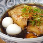 鳥勝 - 《豚の角煮》姫路のブランド豚「桃色吐息ポーク」使用!!