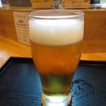 阿み彦 -  生ビール