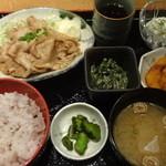 魚と創作料理 だん -  本日の日替り膳:850円