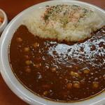 カレーハウス CoCo壱番屋 -  印度カレーライス(ビーンズ):750円+5辛:105円