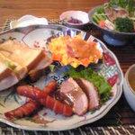 旅所 佳舎 - 料理写真:朝食(洋風)。こんなに素敵だったら夕食も期待大!