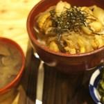 27780758 -  帆立すき煮丼、シジミ汁付き 1,000円