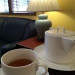 ベーカリー ウェールズ -  セットの紅茶はスッキリして飲みやすかったです。