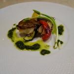 セントベーネ -  真鯛のグリル・香草のグリーンソース