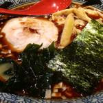 屯ちん - 魚豚ラーメン(中) 710円