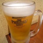 巨牛荘 -  生ビール
