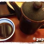 草春庵 - 蕎麦湯
