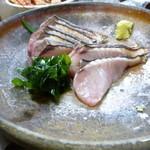海鮮料理 磯 -  鰆のたたき