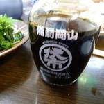 海鮮料理 磯 -  鷹取醤油のお醤油