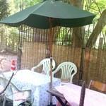 紅葉の茶屋 -  テラス席