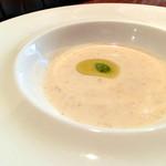 27791612 -  カブとヨーグルトの冷製スープ