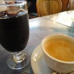 ネイチャータンドール -  アイスコーヒーとチャイ