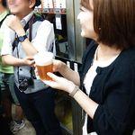 ビールスタンド重富 -  (2014.05) アワがお好きという広テレのアナウンサーさま