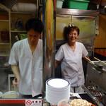 久留米屋ラーメン - おばちゃんとは久しぶり♪