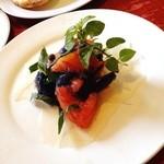 27796200 - ナスとトマトの前菜