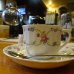 ホルトの木喫茶 -  カウンターとマンデリン