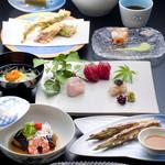 割烹 天ぷら 三太郎 - 野菜会席 \8,000