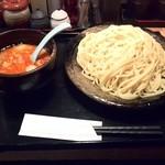 つけ麺さとう -  辛ごまつけ麺 (800円)