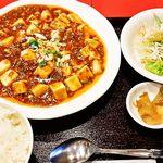 27799555 -  麻婆豆腐定食780円