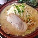 麺屋ばやし -  醤油ら~めん(550円)+もやし増し(10円)+大盛り(10円)