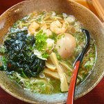 拉麺 餃子 竹蔵 - 塩らーめん