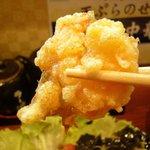 拉麺 餃子 竹蔵 - 海老の天ぷら