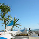 サザンビーチカフェ - どこまでも青い空