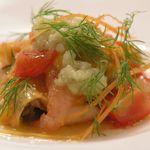 ランファン - 魚介のサラダ