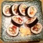 小樽 魚○ - うおまる 具だくさん巻
