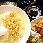 Karakuen - 中華粥ランチ♪