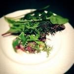 ピーターパン - 和牛肉イチボ肉のステーキ ゴルゴンゾーラソース