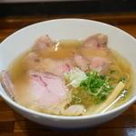 町田汁場 しおらーめん進化 -  チャーシュー麺