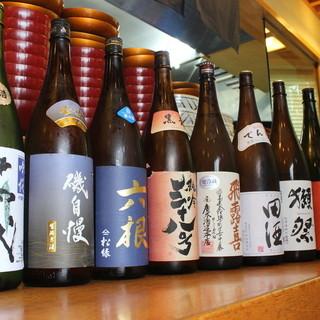千葉の酒、全国各地の地酒、本格焼酎