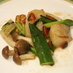 中国料理 翆陽 -  帆立と彩り野菜の炒め