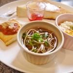 アクアマリーン - 料理写真: 日本蕎麦♥