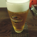 ムーンライト カフェ - ドリンク写真: 生ビール♪