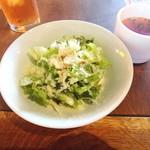 27807591 -  サラダとスープ