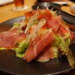 平田牧場 匠 - 平牧金華豚生ハムサラダ 1,200円