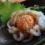 八剣伝 -  当店人気のイカユッケ。お酒との相性抜群です!
