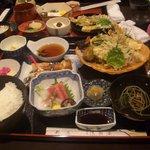 浅羽屋 - 天ぷら定食