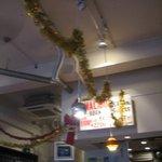 Cafe食堂 MALIBU - 店内の天井