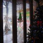 Cafe食堂 MALIBU - 正面の窓