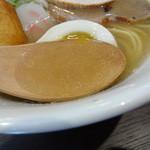 らーめんのくきつ - スープアップ