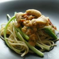 リストランテ・ヒロ・チェントロ - 三陸産赤ウニのスパゲッティーニ