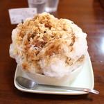 和洋喫茶 レモンの木 - ふわっふわの氷☆
